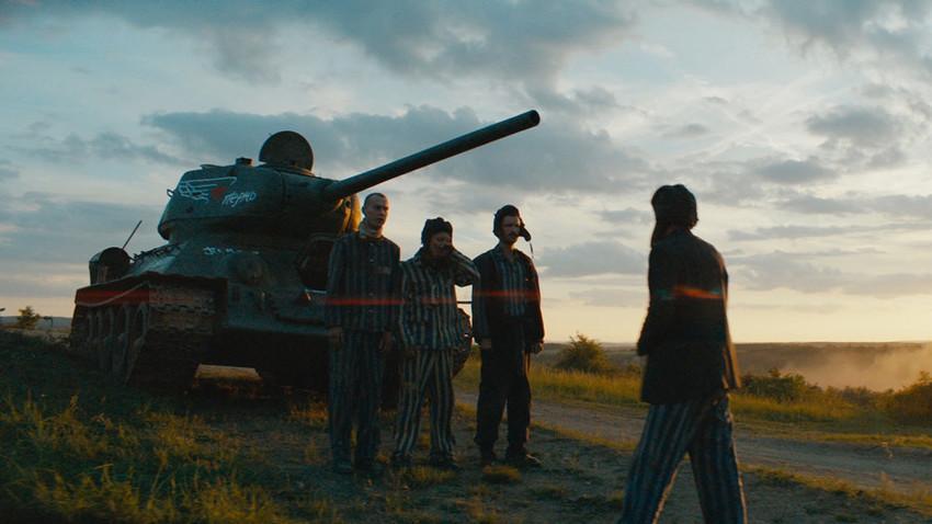 """Кадър от филма """"Т-34"""", Русия, 2018"""