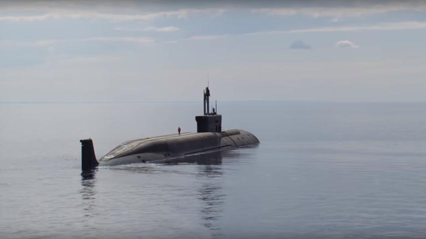 Submarino nuclear del proyecto Boréi.