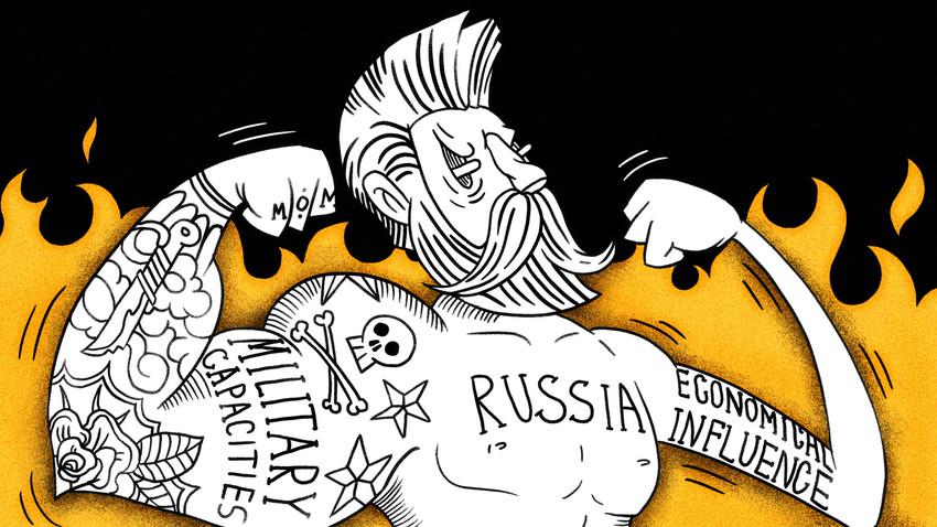 Meski tak ada yang meragukan kapasitas militer dan politik Rusia, pengaruhnya terhadap ekonomi masih tertinggal.