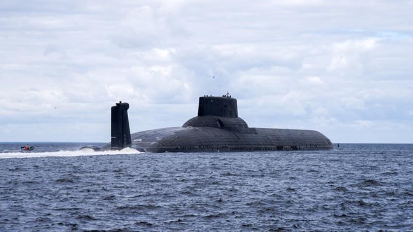 Jedrske podmornice tipa Akula veljajo za največje na svetu