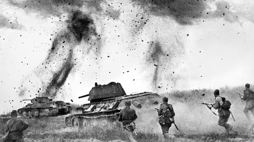 Pertempuran Kursk.