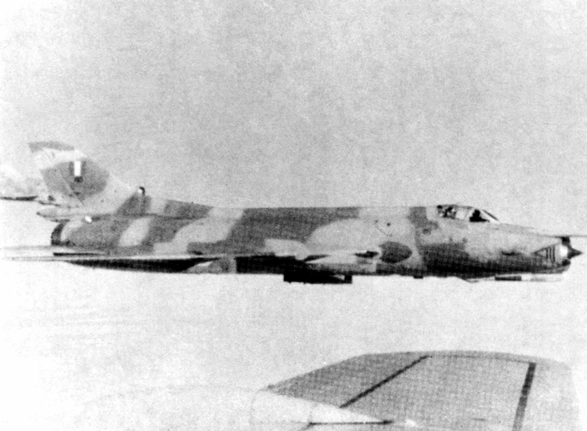 Su-22 peruano em 1982.