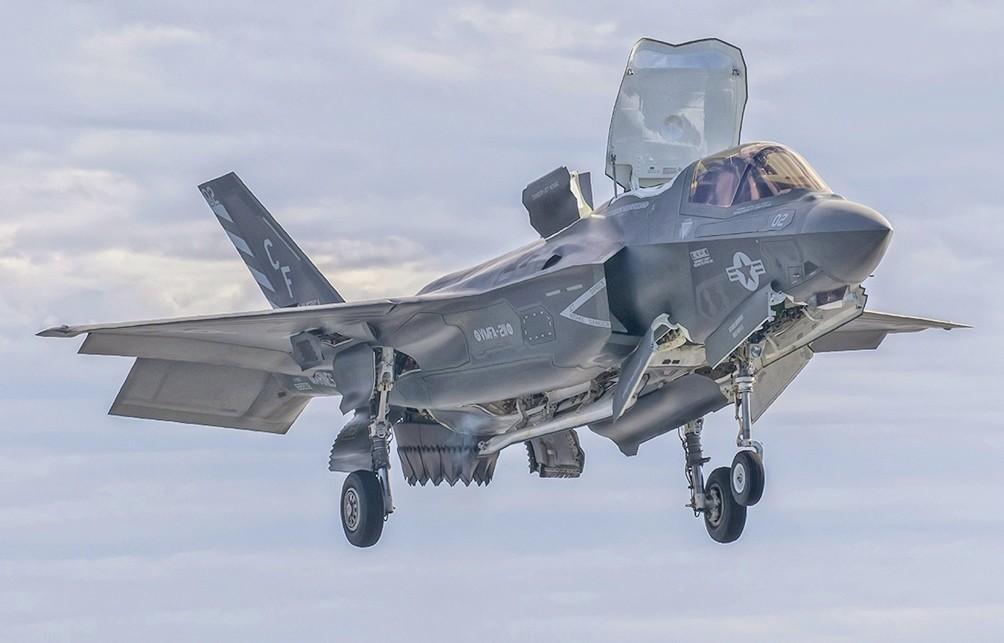 F-35B en 2016.