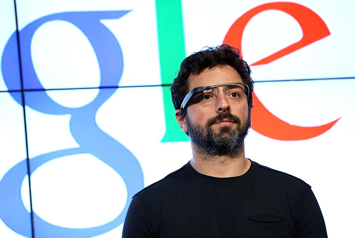 Съоснователят на Google Сергей Брин.