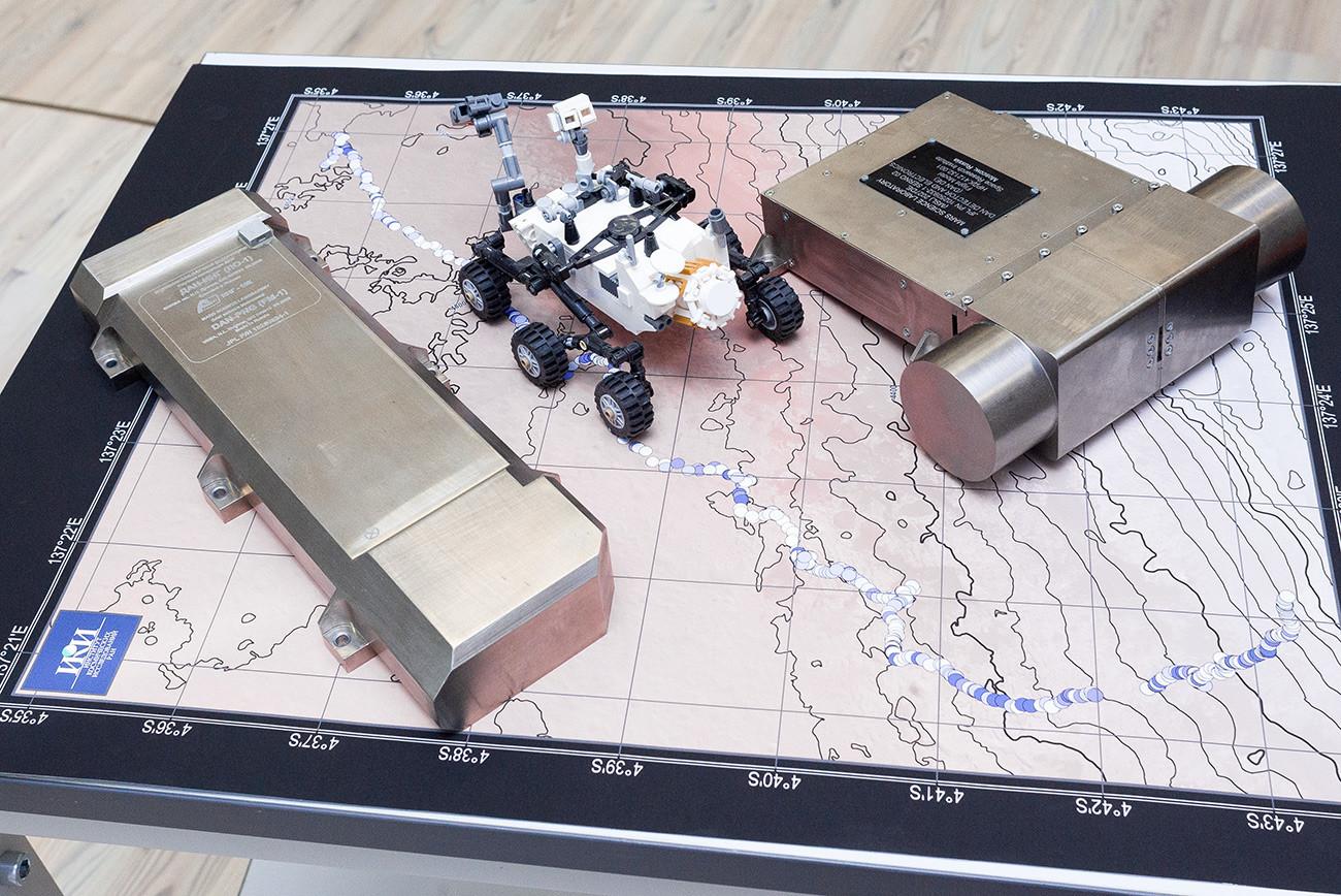 Tecnologia espacial russa.