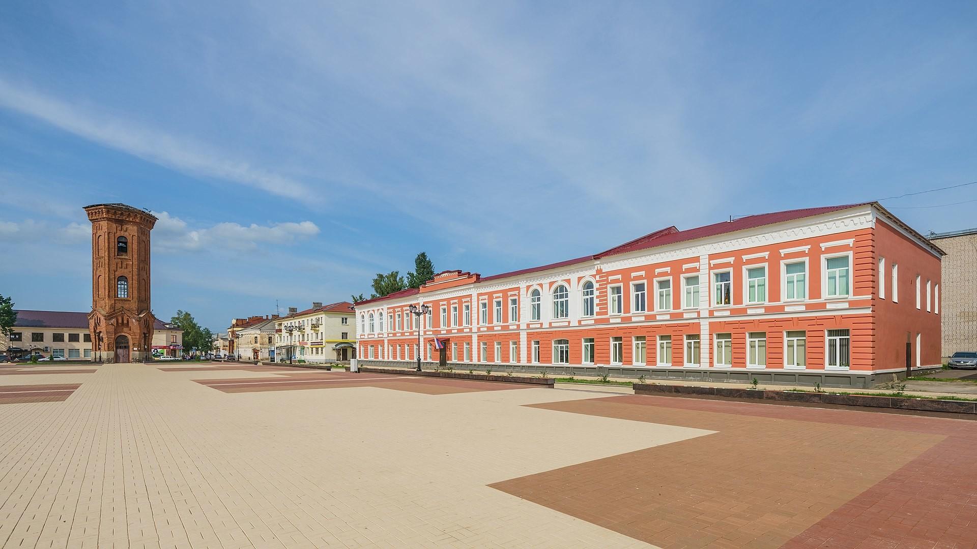 Soborni trg, Staraja Russa