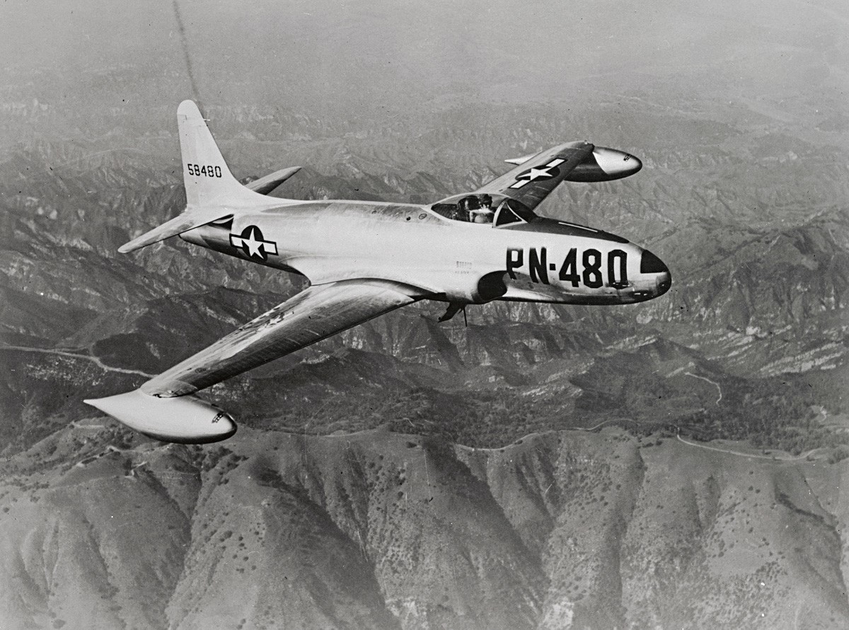 Lockheed P-80B 'Shooting Star'
