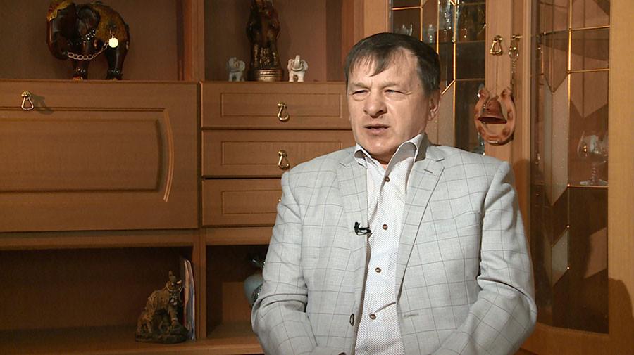 Aleksander Rakovič, domačin, borec za pravice slepih, vodja Borovskega rajonskega oddelka Vseruskega društva slepih