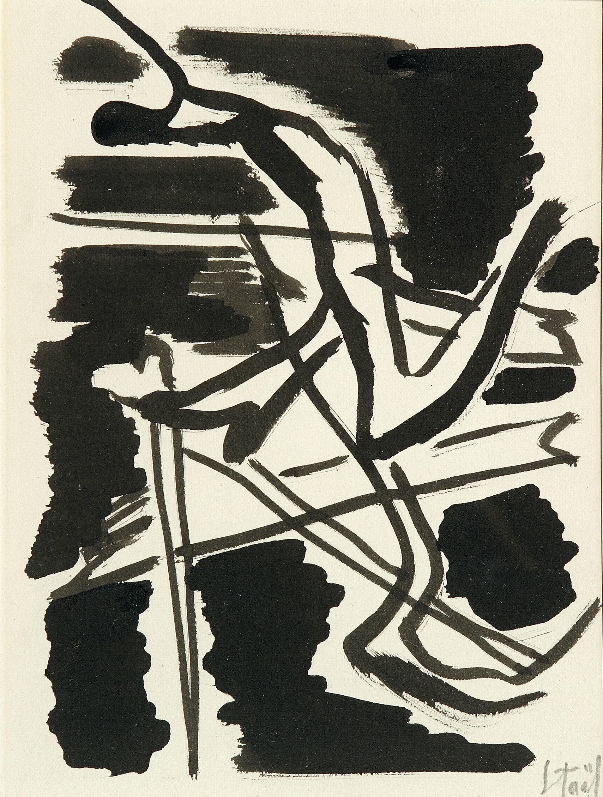 Nicolas de STAËL. Composition. 1946-1947