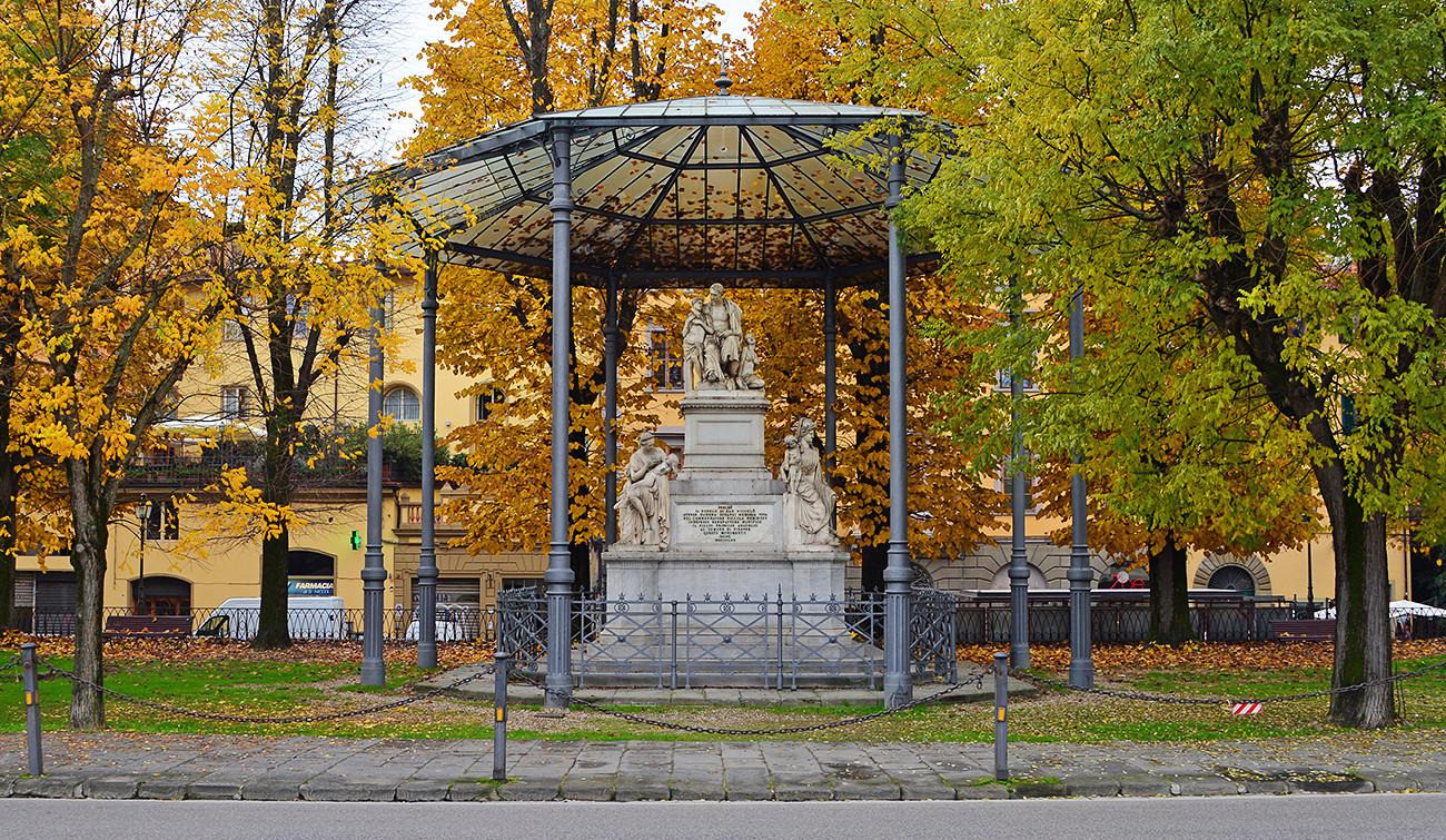 """Piazza Demidoff"", Florença."