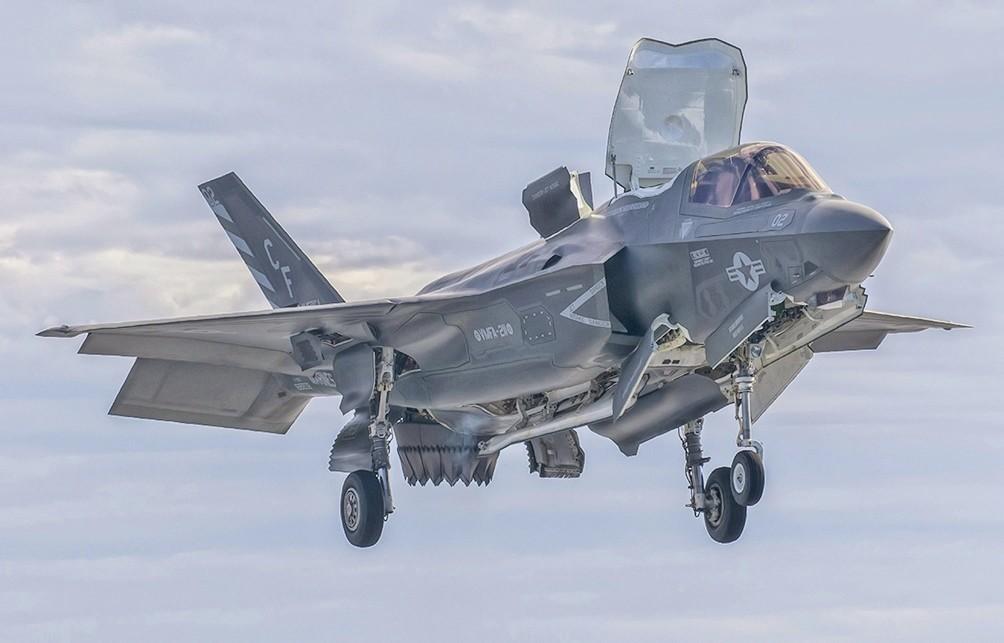 F-35B, 2016
