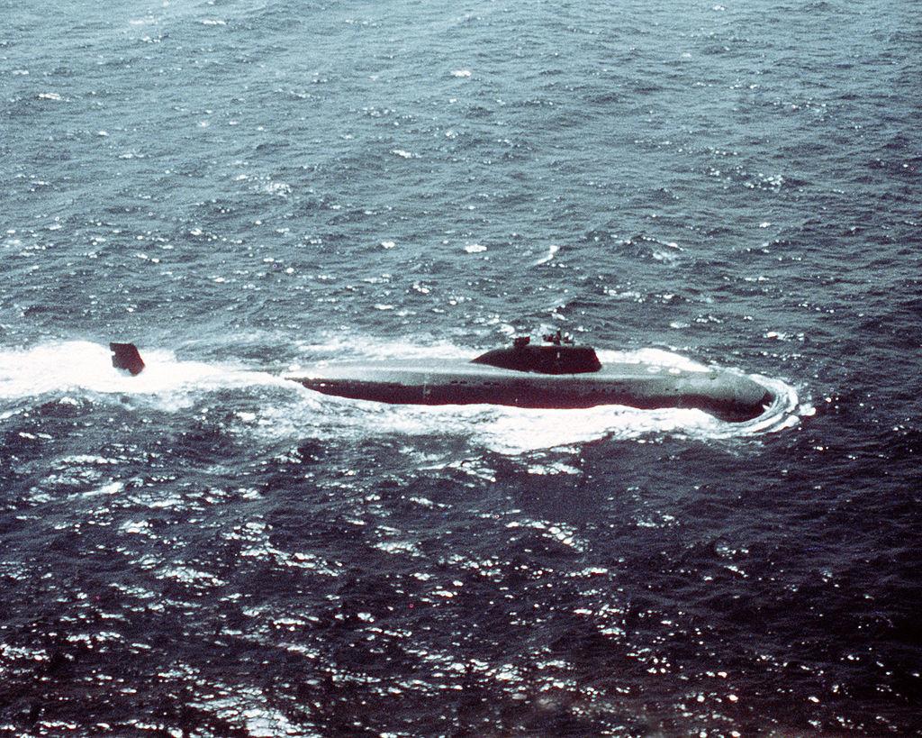 Podmornica projekta 671 Jorš (Victor I)