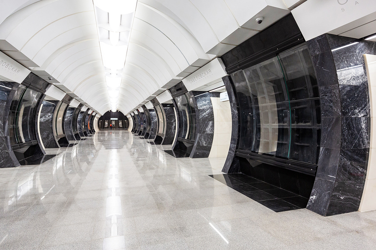 What Moscow Metro's new circle line will look like (PHOTOS ...