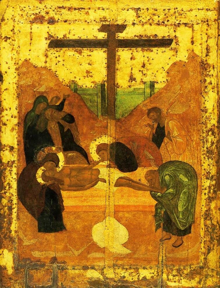 Die Grablegung des Herren (1425)