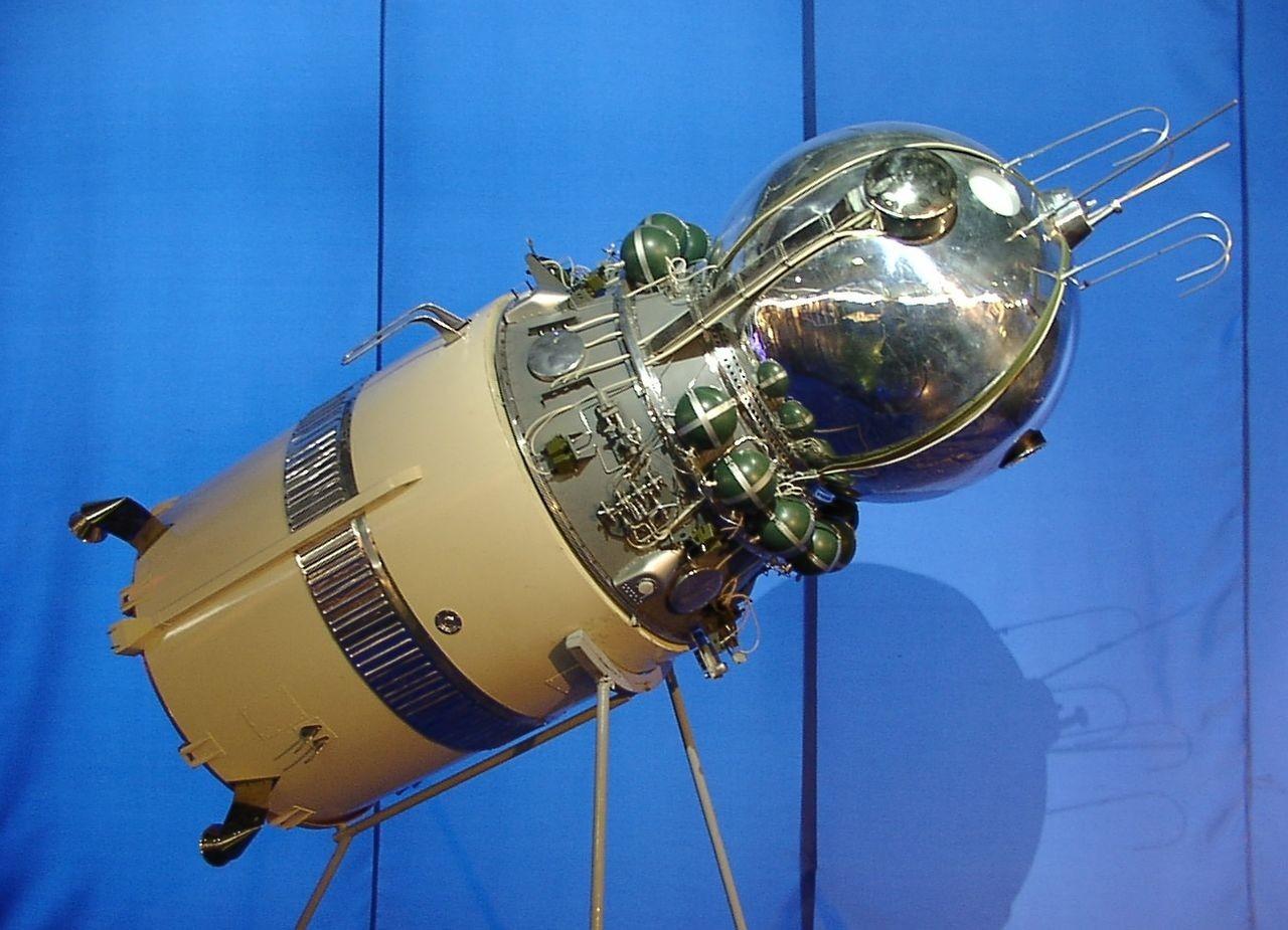 Model plovila Vostok-5, s katerim je leta 1963 letel Bikovski.