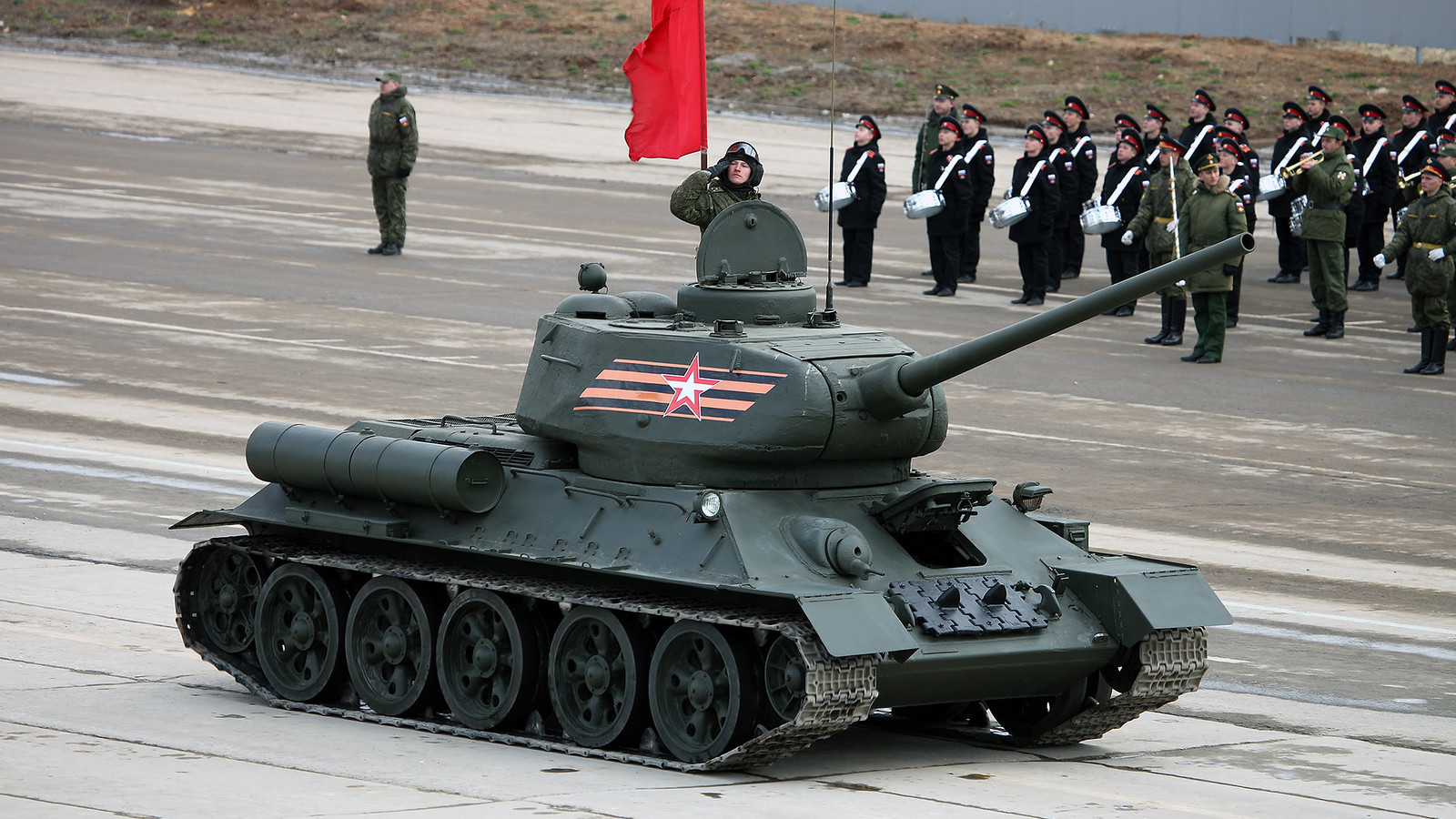 Tanque T-34.