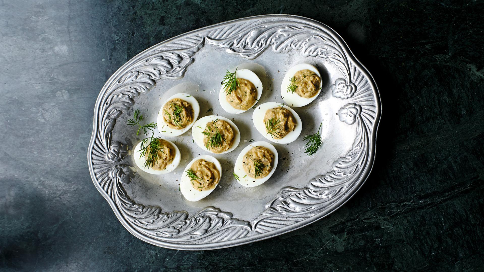 Recetas huevos aperitivo