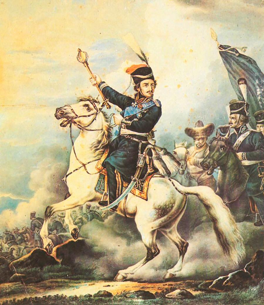 マトヴェイ・プラートフの肖像画