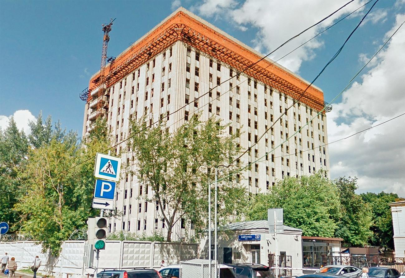 シャボロフカ通りのテレビ放送センター