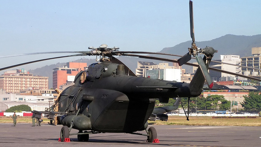 Mil Mi-17 de la Aviación Militar Bolivariana.