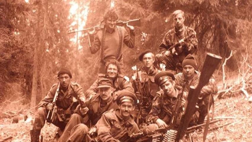 Козаци крај Вишеграда, пролеће '93