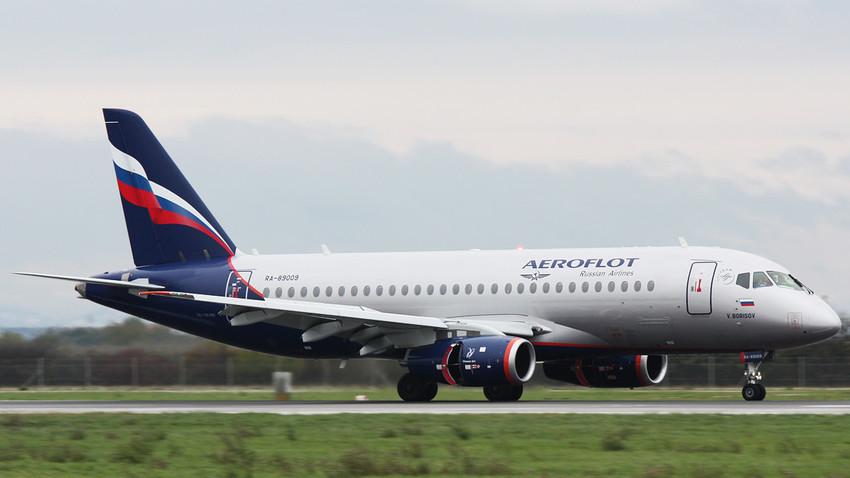 Suhoj Superjet 100 družbe Aeroflot