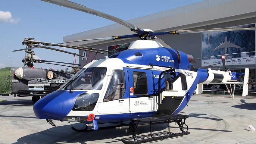 Versión civil del helicóptero ruso Ansat.