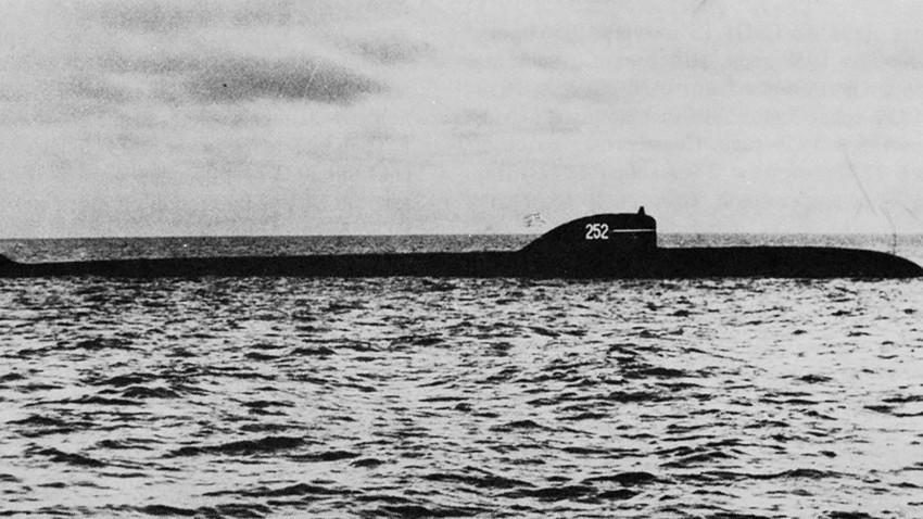 """Подморница од проектот """"Кит"""""""