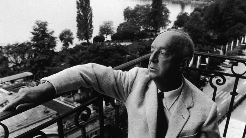 Последние годы жизни Набоков провел в швейцарском Монтрё (1965)