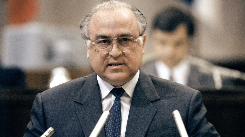 Ruski premier Viktor Černomirdin (na funkciji v letih 1993-1998)
