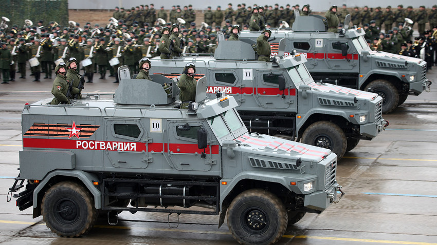 Vehículos blindados Patrul.