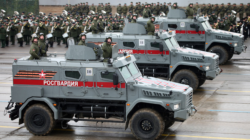 Oklopna vozila Patrul.
