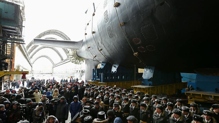Submarino nuclear de cuarta generación Kazán del proyecto 885 Yasen.