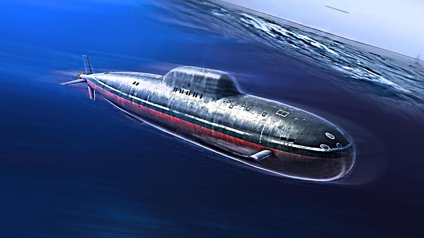 """подморница класе 705 """"Лира"""""""