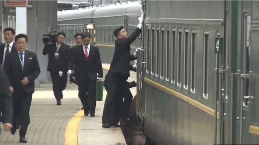 Čiščenje Kimovega vlaka, ki še vedno vozi