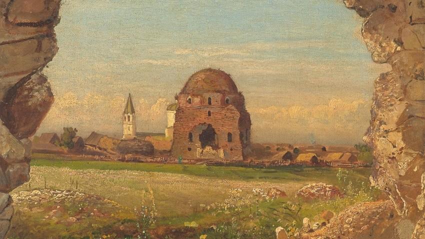 Саврасов А.К., Село Болгари. 1872
