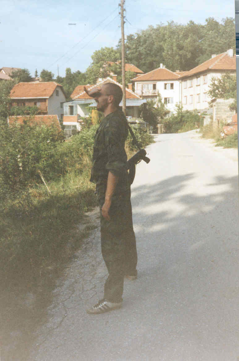 Михаил Поликарпов, Сарајево, лето 1994.