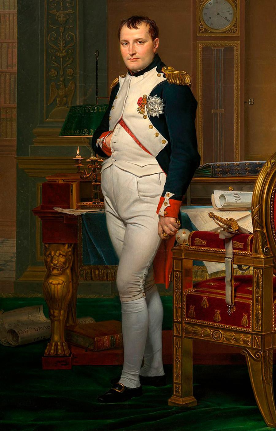 O imperador Napoleão.
