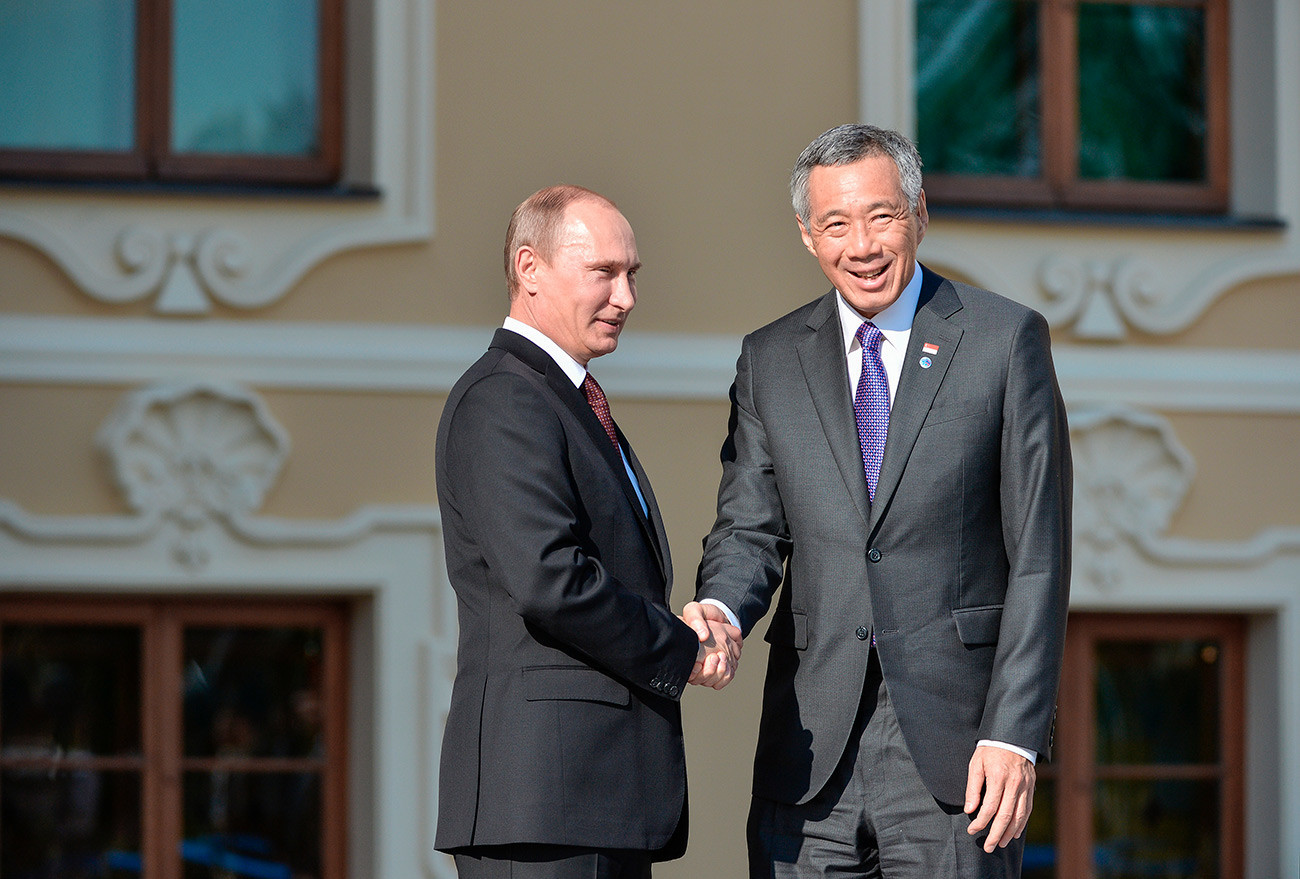 Putin i Lee Hsien Loong