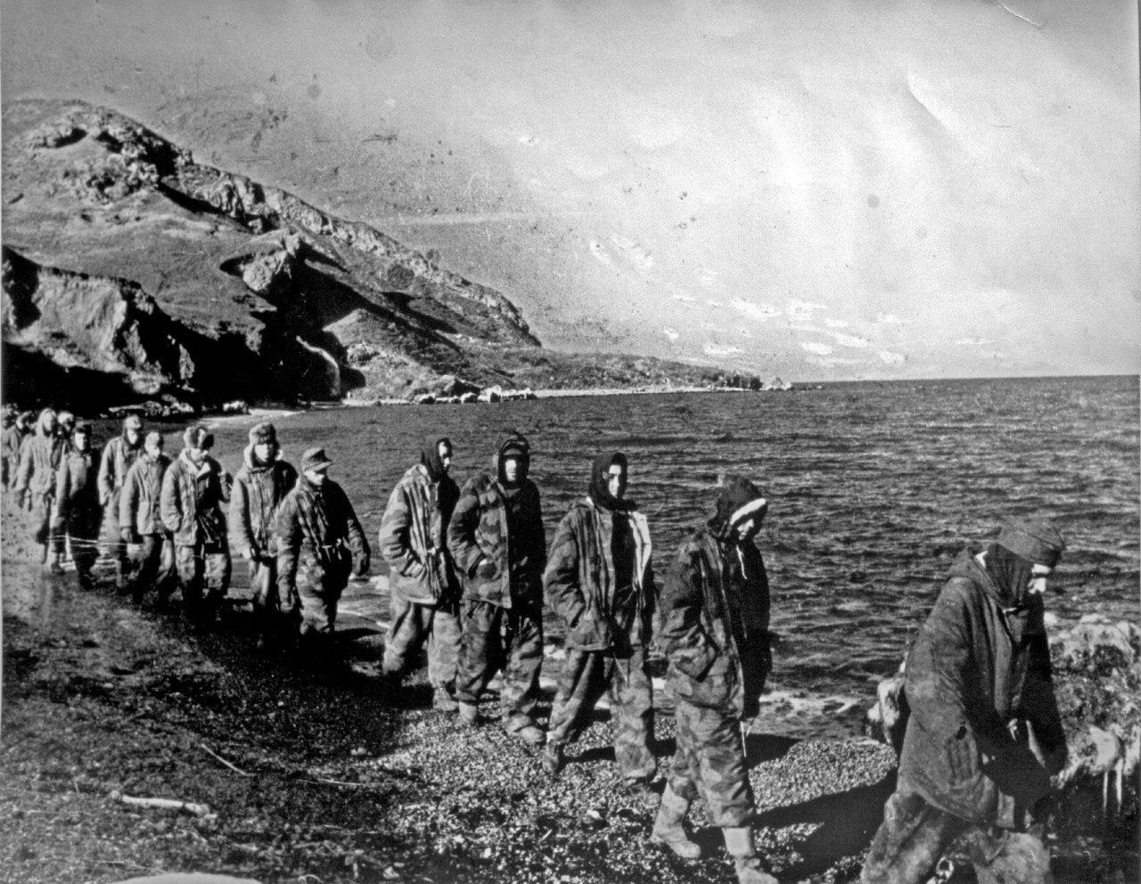 Заробљеници немачке 17.А јужно од Севастопоља
