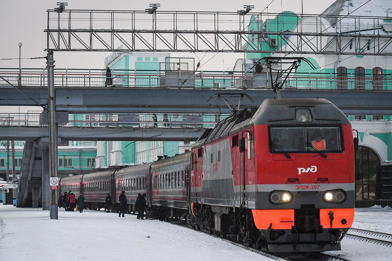 Glavna železniška postaja v Novosibirsku