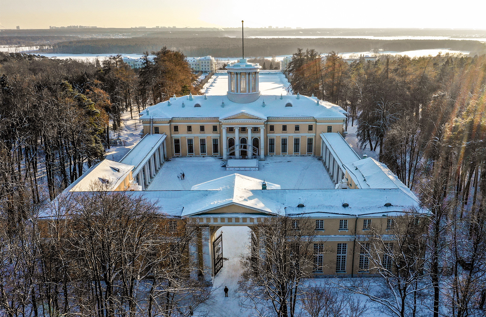 Arkhangelskoe museum-estate in Moscow