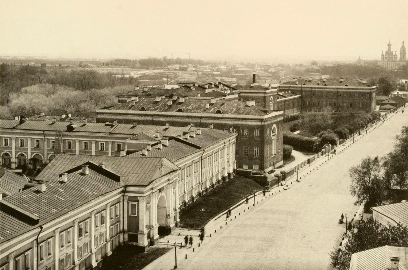 Lefortovo Palace in Moscow