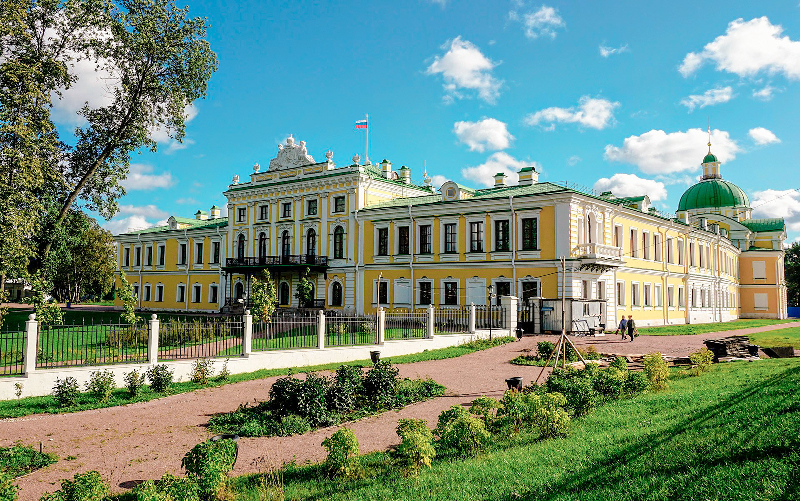 The stopover palace in Tver
