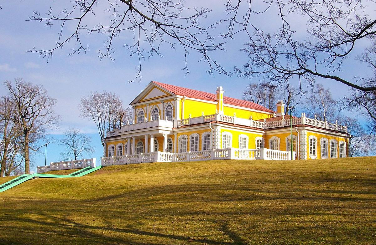 The stopover palace in Strelna