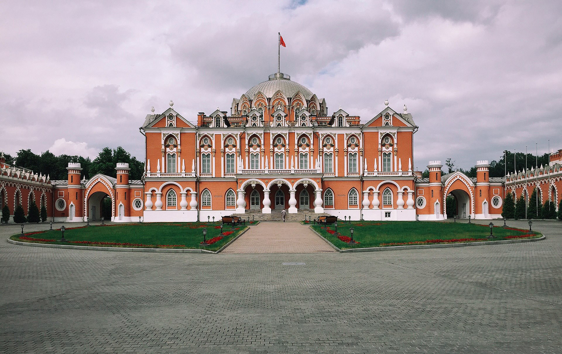 The Petrovsky stopover palace