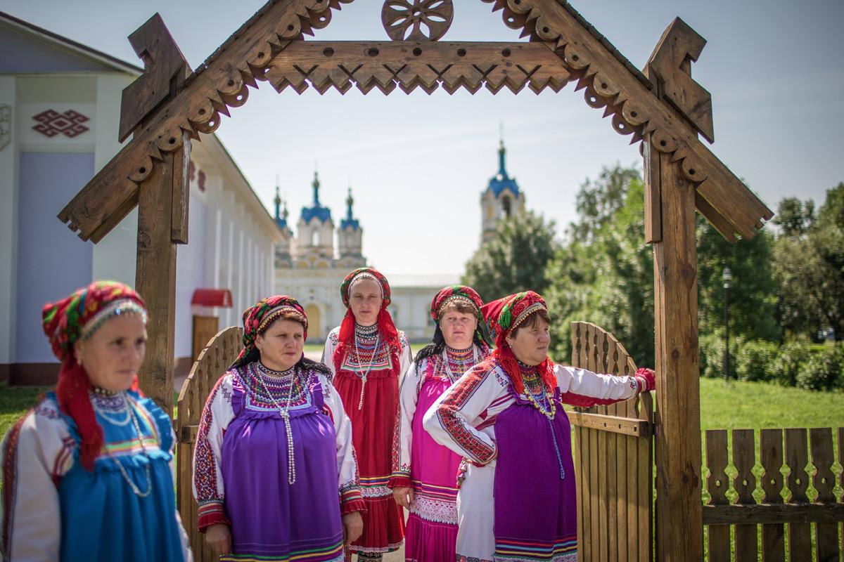 モルドヴィア共和国のスターラヤ・テリモルガ村にある民族文化センター。
