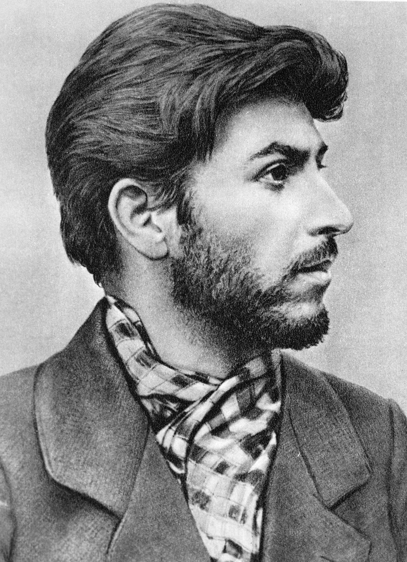 Stalin in his younger years.