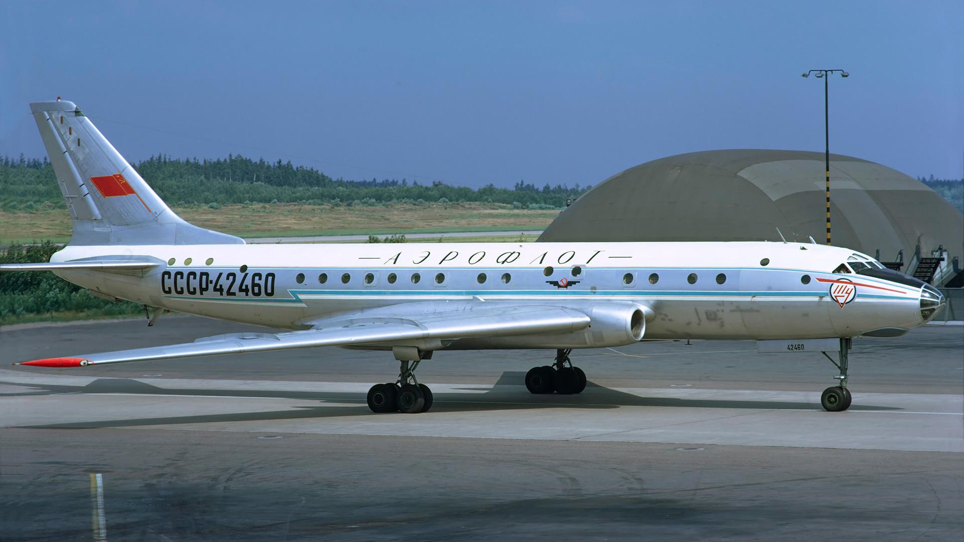 TU-104B da Aeroflot.