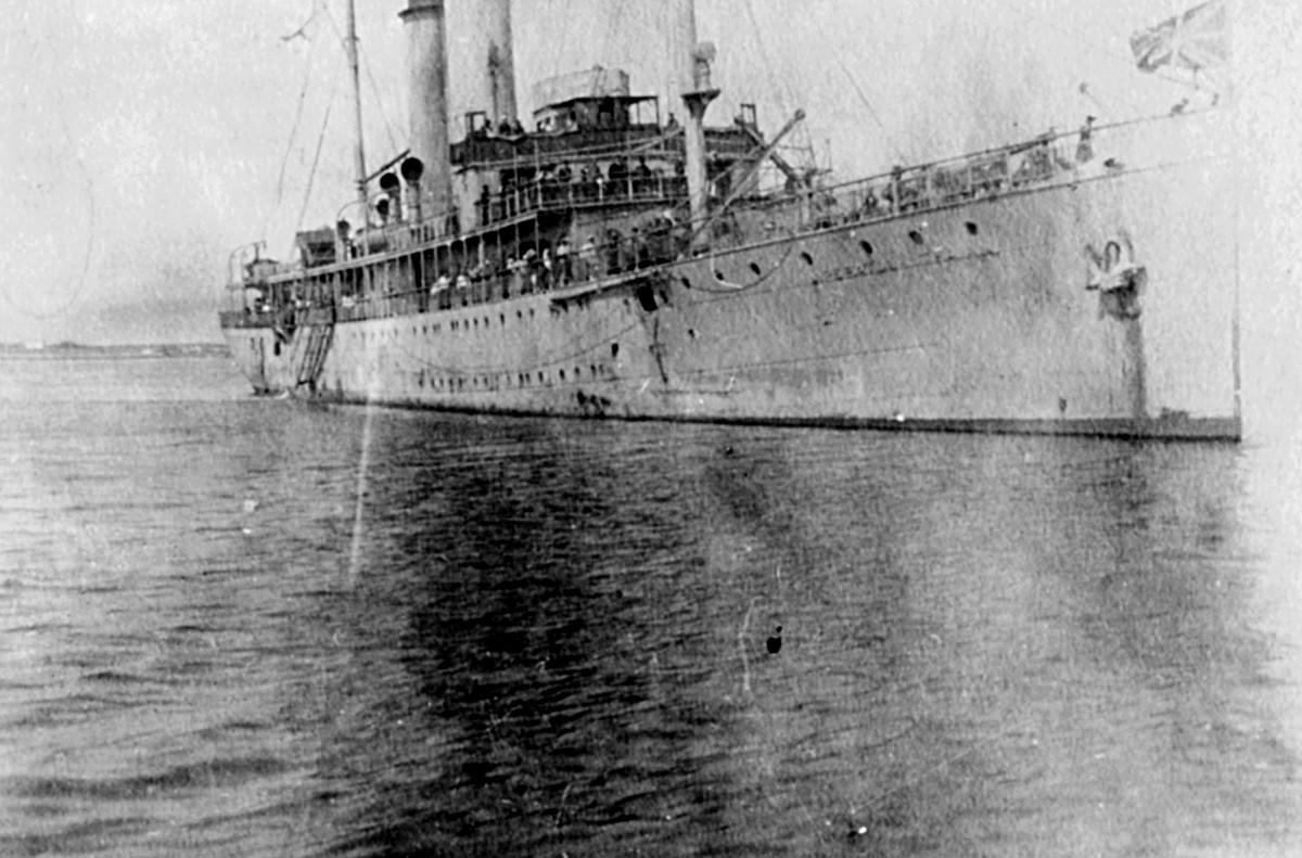 Buque Imperátor Trayan en 1918.